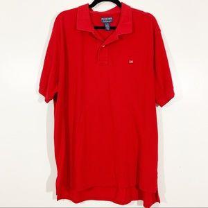 Polo Ralph Lauren XL Red Short Sleeve Polo Flag